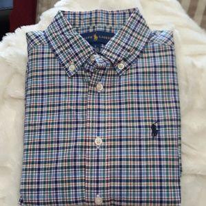 Ralph Lauren polo shirt button down size 5